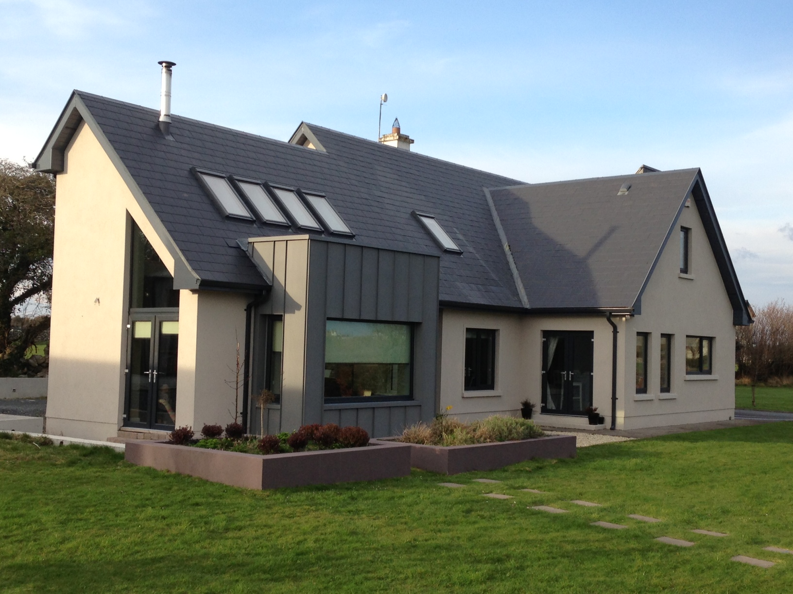 Kelleher extension kilcolgan co galway projects by for Dormer bungalow house plans ireland